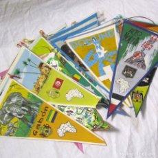 Banderines de colección: 19 BANDERINES VARIADOS. Lote 181426252