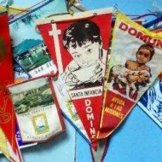 Banderines de colección: LOTE VARIADO DE 20 BANDERINES AÑOS 60-70. Lote 184302413
