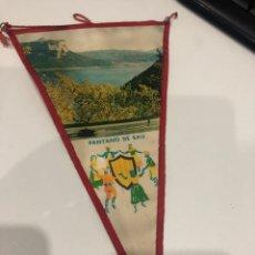 Banderines de colección: PANTANO DE SAU. Lote 186252332