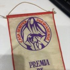 Banderines de colección: PREMIA DE MAR. Lote 186253598