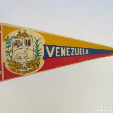 Galhardetes de coleção: ANTIGUO BANDERIN DE VENEZUELA - MIDE 36X 16CM. Lote 190161407