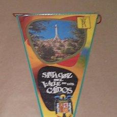 Banderines de colección: BANDERÍN SANTA CRUZ DEL VALLE DE LOS CAÍDOS - 1968. Lote 191659148