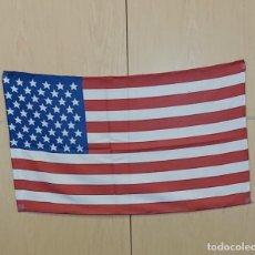Banderines de colección: BANDERA USA 70X40 CM. ESTAMPADA A DOS CARAS .GENERO ACRILICO.JARETA PARA UN ASTA.. Lote 191888836