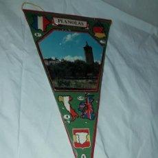 Banderines de colección: ANTIGUO BANDERÍN PLANOLAS. Lote 194171123