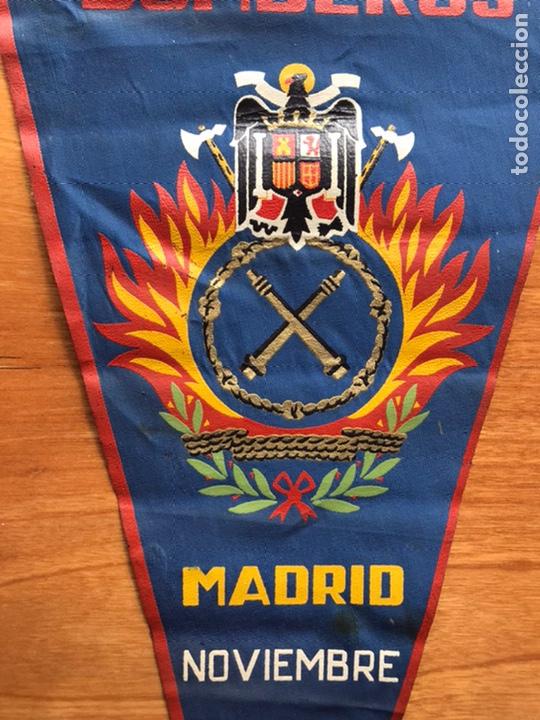 Banderines de colección: Banderín primer concreso nacional de Bomberos Madrid noviembre 1959 - Foto 2 - 194222311
