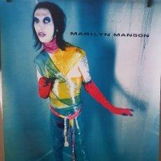 Banderines de colección: POSTER DE MARILYN MANSON 83CMX60CM. Lote 194240200