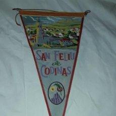 Banderines de colección: ANTIGUO BANDERÍN SAN FELIU DE CODINAS. Lote 194255002