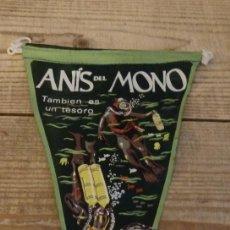 Banderines de colección: BANDERIN ANIS DEL MONO AÑOS 50/60. Lote 194270882