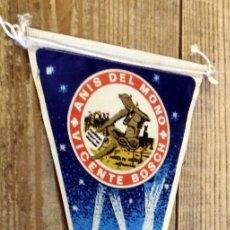 Banderines de colección: BANDERIN ANIS DEL MONO AÑOS 50/60. Lote 194275328