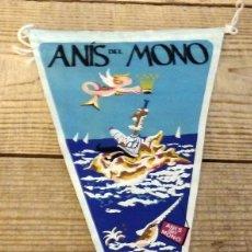 Banderines de colección: BANDERIN ANIS DEL MONO AÑOS 50/60. Lote 194275387