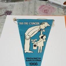 Banderines de colección: BANDERIN DÍA DEL CANCER. Lote 194304832
