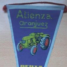 Banderines de colección: BANDERIN ATIENZA ARANJUEZ DEUTZ. Lote 194569090