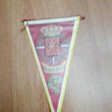 Banderines de colección: BANDERIN DE NAVARRA . Lote 194569725