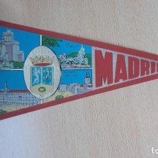 Banderines de colección: BANDERIN DE MADRID . Lote 194632193