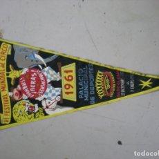 Banderines de colección: BANDERIN VI FESTIVAL MUNDIAL DEL CIRCO. Lote 194900566