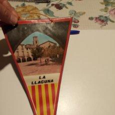 Banderines de colección: LA LLACUNA. Lote 194963331