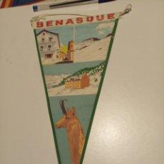 Banderines de colección: BENASQUE. Lote 194964527