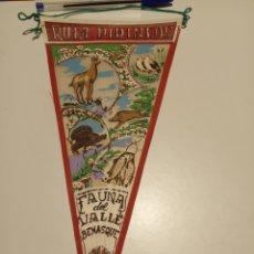Banderines de colección: RUTA PIRINEOS FAUNA DEL VALLE DE BENASQUE. Lote 194964707