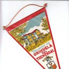 Banderines de colección: ANTIGUO BANDERÍN RECUERDO ORIHUELA DEL TREMEDAL, TERUEL, ARAGÓN TURISMO AA. Lote 194983872