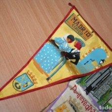 Banderines de colección: LOTE DE BANDERINES ANTIGUOS . Lote 195205457