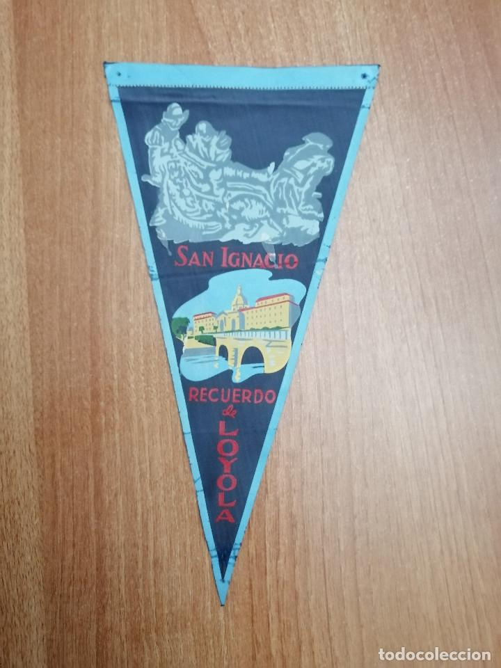 BANDERIN SAN IGNACIO-- RECUERDO DE LOYOLA (Coleccionismo - Banderines)