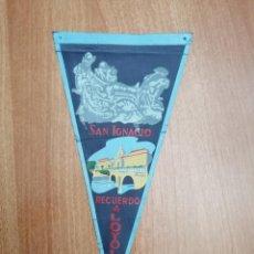 Banderines de colección: BANDERIN SAN IGNACIO-- RECUERDO DE LOYOLA. Lote 195303811