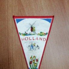 Banderines de colección: BANDERIN DE HOLLAND. Lote 195304292