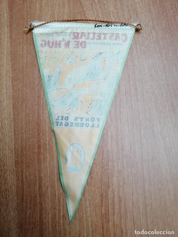 Banderines de colección: BANDERIN CASTELLAR DE N´HUG - Foto 2 - 195305371