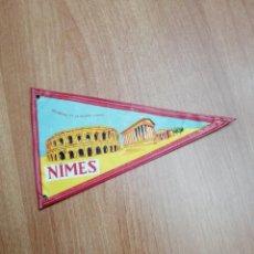 Banderines de colección: BANDERIN DE NIMES. Lote 195305677