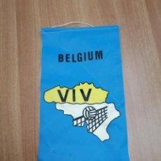 Banderines de colección: BANDERIN DE BELGIUM - VIV. Lote 195404073