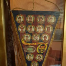 Banderines de colección: BANDERÍN FC BARCELONA ORIGINAL AÑOS 80. Lote 196232373