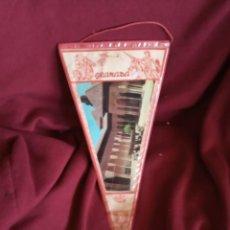 Banderines de colección: ANTIGUO BANDERÍN DE GRANADA. Lote 196493547