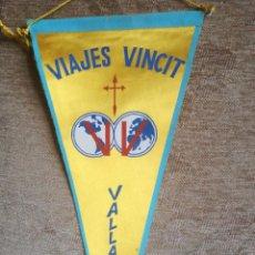Banderines de colección: VIAJES VINCIT. Lote 197024196