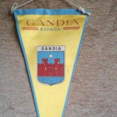 Banderines de colección: GANDIA. Lote 197024718