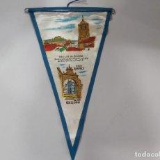 Banderines de colección: ANTIGUO BANDERIN DE AGUILAR DE CAMPO. Lote 197445070