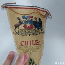 Banderines de colección: ANTIGUO BANDERIN DE CHILE . Lote 197445573