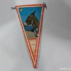 Banderines de colección: ANTIGUO BANDERIN DE BURRO. Lote 197453502