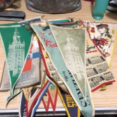 Banderines de colección: LOTE DE 26 BANDERINES ANTIGUOS, DISTINTAS TEMÁTICAS. Lote 197455477