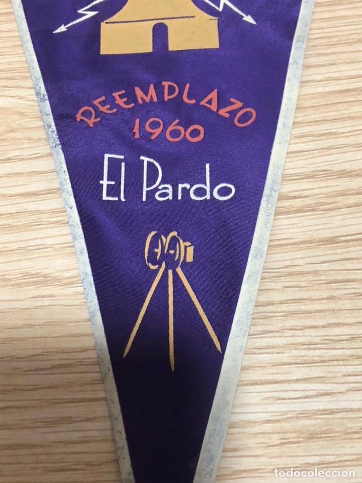 Banderines de colección: Banderín regimiento de transmisiones el pardo - Foto 3 - 197456943