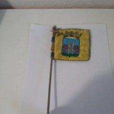 Banderines de colección: BANDERIN ANTIGUO DE MESA BADAJOZ EXTREMADURA . Lote 199062451