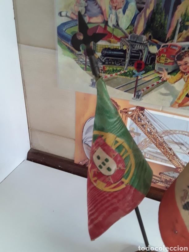Banderines de colección: Antiguas Banderas de despacho on las banderas de PORTUGAL - ESPAÑA - ZARAGOZA (EPOCA DE FRANCO) - Foto 4 - 203328591