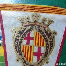 Banderines de colección: LOTE 3 BANDERINES TURÍSTICOS BARCELONA, ARANJUEZ Y PEÑÍSCOLA. Lote 203396332
