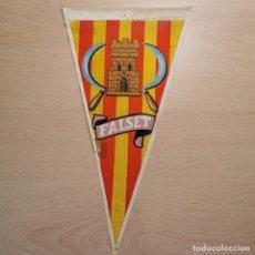 Galhardetes de coleção: ANTIGUO BANDERIN - FALSET (CATALUNYA) CATALUÑA - AÑOS 60. Lote 204099066