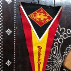Banderines de colección: BANDERIN REALIZADO EN FIELTRO DE LA ACADEMIA GENERAL MILITAR EPOCA FRANCO GRANDE. Lote 204272488