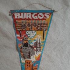 Fanions de collection: BANDERIN BURGOS. Lote 205676418
