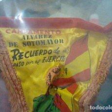 Banderines de colección: ALVAREZ SOTOMAYOR CIR 6 BANDERIN MILITAR 33 CMS LARGO SOBADO. Lote 206210071