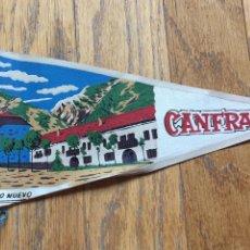 Fanions de collection: ANTIGUO BANDERIN CANFRANC BARRIO NUEVO. Lote 206332181