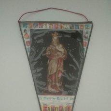 Banderines de colección: ANTIGUO BANDERÍN - GIRONA - SANTUARIO DEL FAR - VER FOTOS. Lote 206571281
