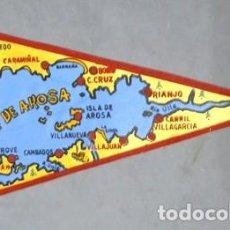 Fanions de collection: BANDERIN DE TELA RIA DE AROSA - BANDERIN-280. Lote 207174581