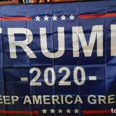 Banderines de colección: TRUMP (LETRAS) 2020 KEEP AMERICA GREAT! 145CM X 90CM. Lote 209601183